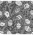happy easter seamless pattern easter background vector image