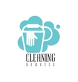 House And Office Cleaning Service Hire Logo vector image vector image