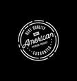 Premium product stamp logo design