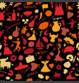 spain seamless pattern for your design vector image vector image