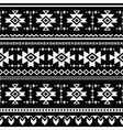Tribal aztec seamless pattern print vector image