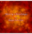 Abstract Christmas background and place for text vector image vector image