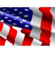 al 0702 american flag vector image vector image