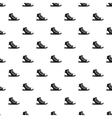 Athletic shoe pattern simple style vector image vector image
