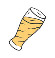 beer color icon oktoberfest alcoholic drink bar vector image