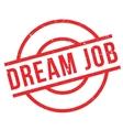 Dream Job rubber stamp vector image