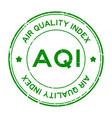 grunge green aqi abbreviation air quality