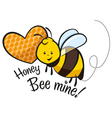 honey bee mine vector image vector image