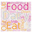 Life After Dairy text background wordcloud concept vector image vector image