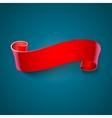 Realistic ribbon vector image