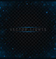 sparkling blue texture vector image vector image