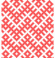 traditional ethnic russian and slavic ornament vector image