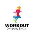Workout Design vector image