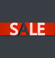 picture sale 1 vector image vector image