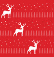 simple classic xmas seamless pattern vector image vector image