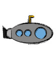 submarine icon image vector image vector image