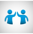 business teamwork people vector image
