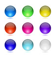 Color round buttons vector image vector image