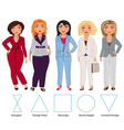 Five Figures trousers vector image vector image