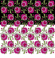 folkstyle pattern vector image vector image