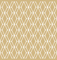 golden mesh seamless pattern luxury texture vector image vector image