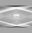 gray and white color geometric abstract vector image vector image