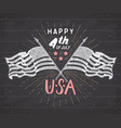 Happy independence day fourth of july vintage