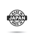 made in japan stamp on white background vector image vector image