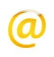 symbols for alphabet in form lemonade vector image vector image
