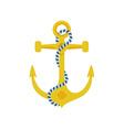 Ship Anchor Icon vector image