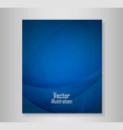 book blue abstract backgrounds abstract vector image vector image