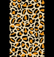 elegant seamless pattern with leopard coat of fur vector image vector image