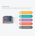 programming infographic data template banner for vector image