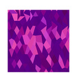 Thistle Purple Abstract Low Polygon Background vector image vector image