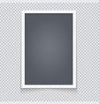 vertical blackboard in neat plastic case vector image