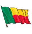 Benin vector image vector image