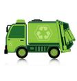 Car garbage vector image