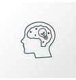 creativity icon line symbol premium quality vector image vector image