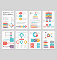 design project of business annual report with vector image