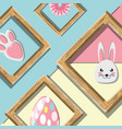 happy easter design concept vector image