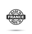 made in france stamp on white background vector image vector image