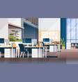 modern workplace cabinet room office interior vector image