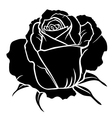 rose one vector image vector image