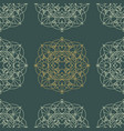 seamless pattern in oriental style vector image vector image