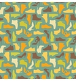 Seamless shoe pattern vector image vector image