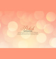 soft blurred bokeh background design vector image
