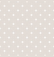 subtle beige and white seamless pattern vector image vector image