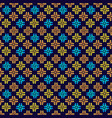 traditional ornamental pattern seamless abstract vector image vector image