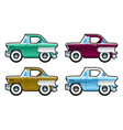 Classic Cars 60s vector image vector image