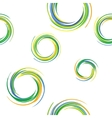 colorful rings vector image